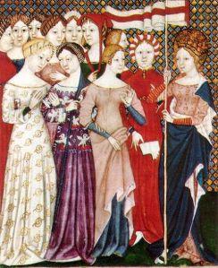 Italian Women, 1380 AD