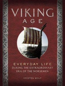 Viking age life book cover