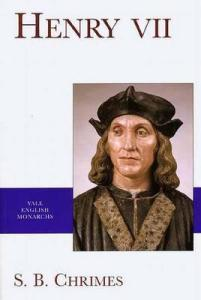 Henry VII Chrimes book cover