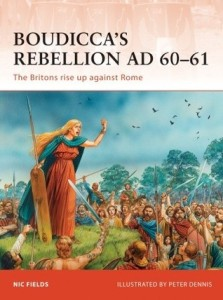 Boudicca's rebellion book cover
