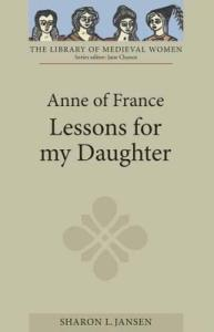 Lessons for my daughter book cover