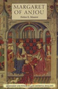 Margaret of Anjou Maurer book cover