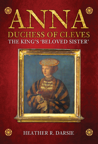 Anna of Cleves book cover